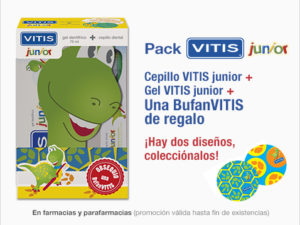 Vitis Junior Pack cepillo y pasta