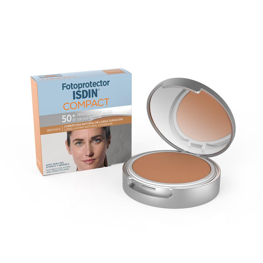 41a5f50d8 Isdin SPF 50+ Maquillaje Compacto Color Bronce - PARAFARMACIA CÁRDENAS