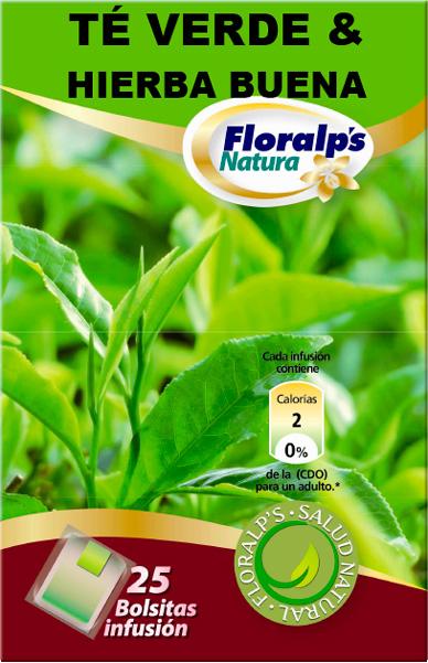 Te verde con hierbabuena 25 filtros